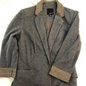 Grey Jacket with chain detail